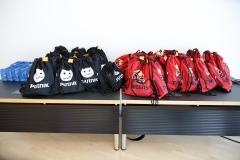 Goodiebags für alle Finalisten vor Ort