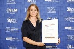 """Marie-Kristin Heß, Stellvertretende Gewinnerin in der Kategorie 2: """"Post an Alex - Willkommen in Humboldts Welt"""""""