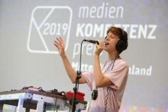 Musikalische Begleitung der Verleihung: Loopmotor