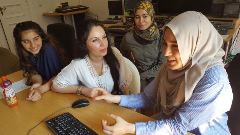 """Ich habe die Grenzen überschritten"""" – ein Filmprojekt mit geflüchteten Frauen"""