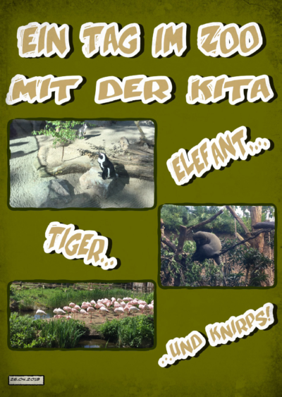 Ein Tag im Zoo in der Kita (Leipzig, Sachsen)